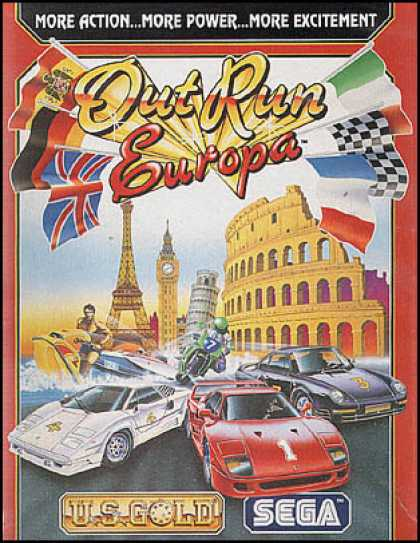 C64 Games - Out Run Europa