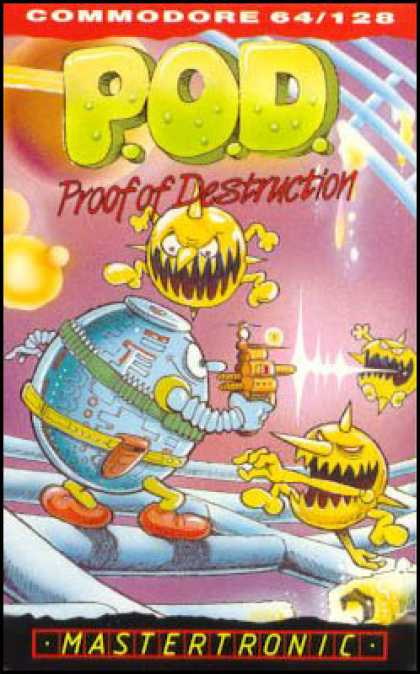 C64 Games - P.O.D. - Proof of Destruction