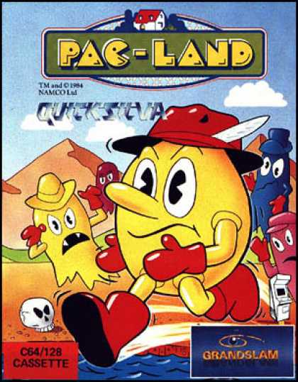 C64 Games - Pac-Land