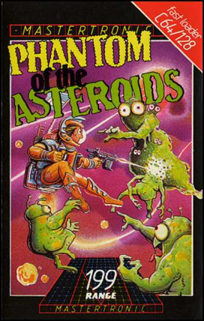 C64 Games - Phantom of the Asteroids