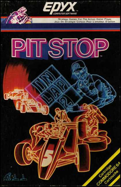 C64 Games - Pitstop