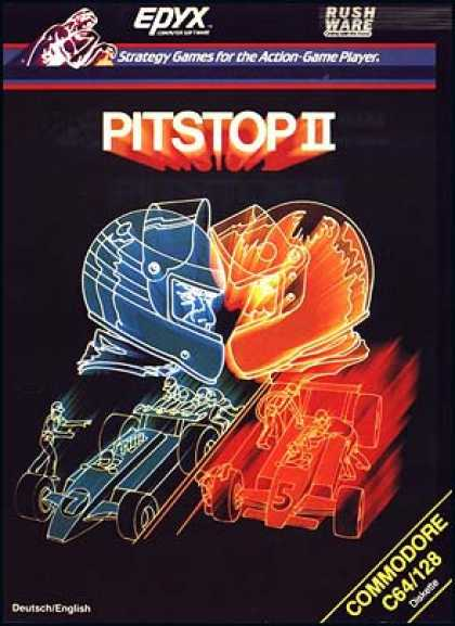 C64 Games - Pitstop 2
