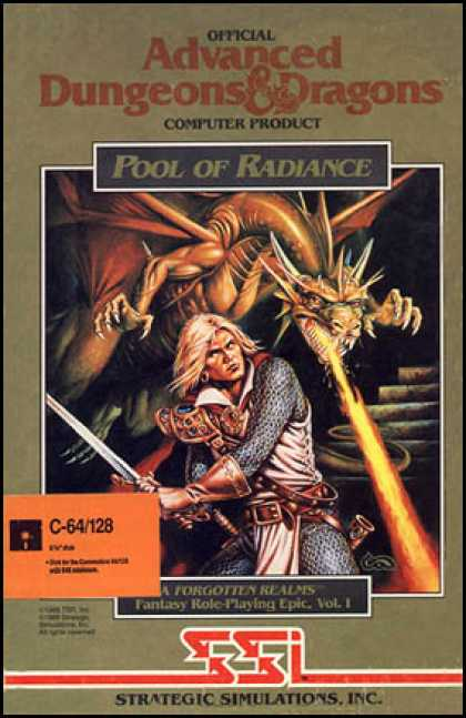 C64 Games - Pool of Radiance