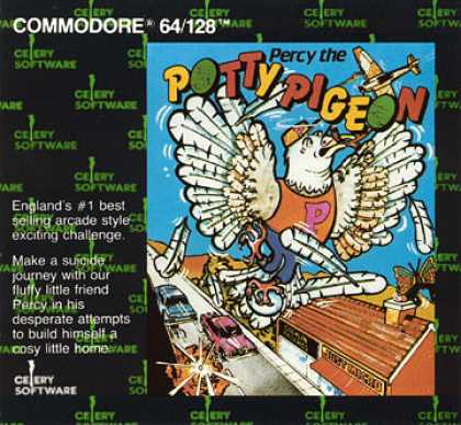 C64 Games - Percy the Potty Pigeon