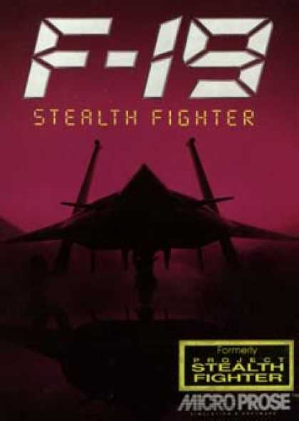 C64 Games - F-19 Stealth Fighter
