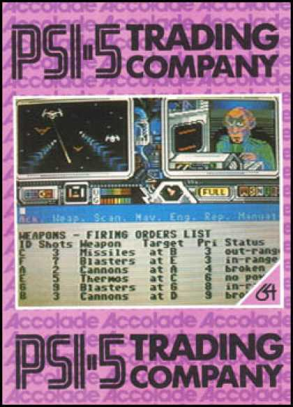 C64 Games - Psi-5 Trading Company