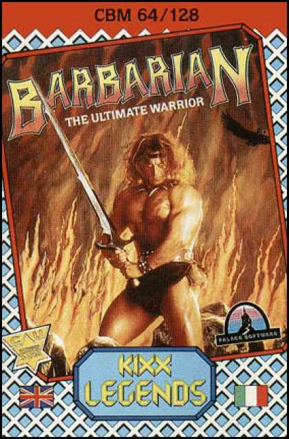 C64 Games - Barbarian: The Ultimate Warrior