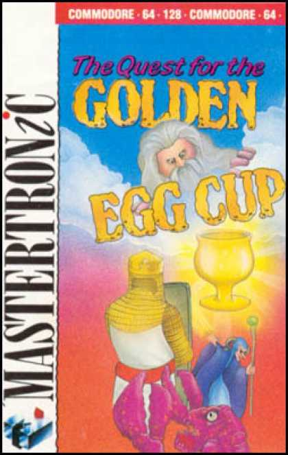 C64 Games - Quest for the Golden Egg Cup, The