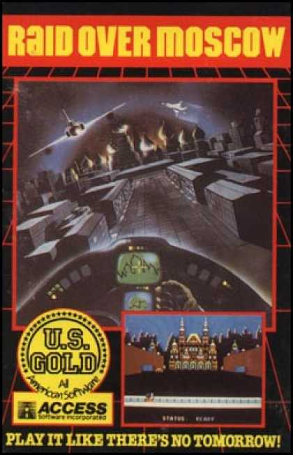 C64 Games - Raid Over Moscow