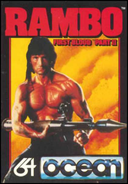 C64 Games - Rambo: First Blood Part II