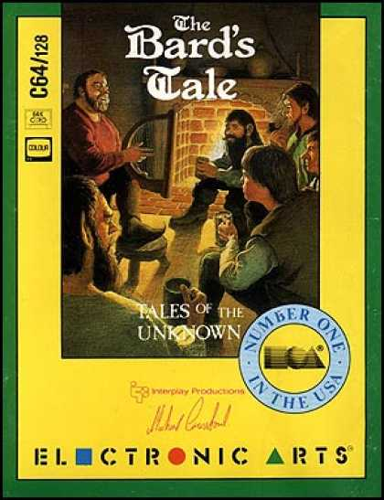 C64 Games - Bard's Tale, The: Tales of the Unknown