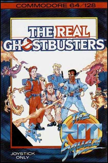 C64 Games - Real Ghostbusters