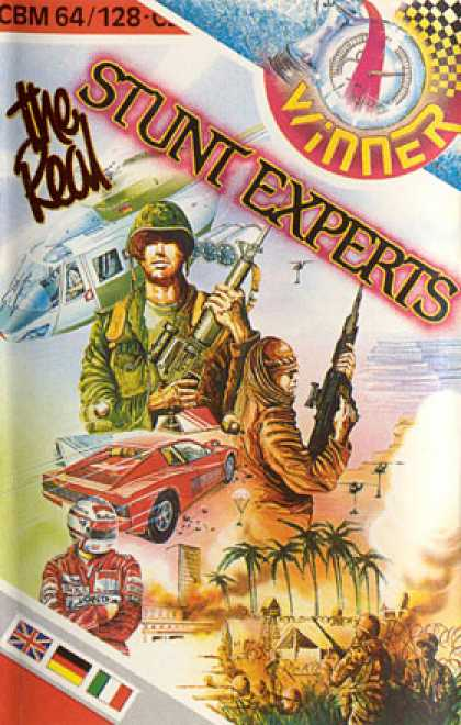 C64 Games - Real Stunt Experts, The