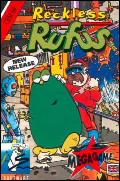 C64 Games - Reckless Rufus