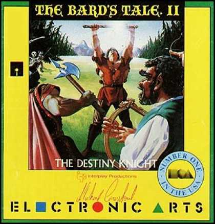 C64 Games - Bard's Tale II, The: The Destiny Knight