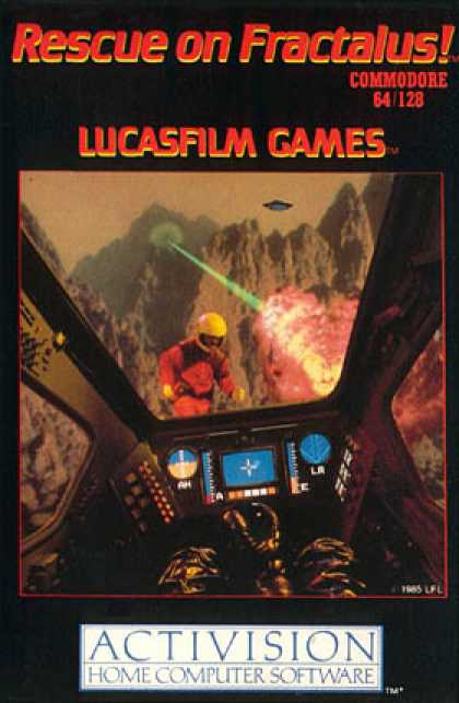 C64 Games - Rescue on Fractalus