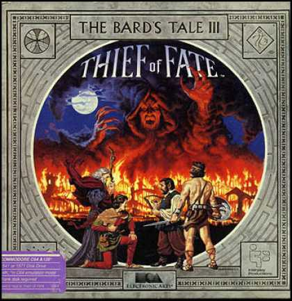 C64 Games - Bard's Tale III, The: Thief of Fate