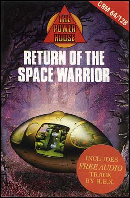 C64 Games - Return of the Space Warrior