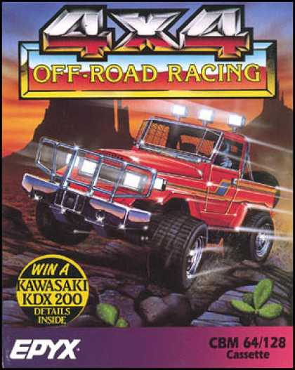 C64 Games - 4x4 Off-Road Racing