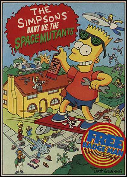 C64 Games - Bart vs. the Space Mutants