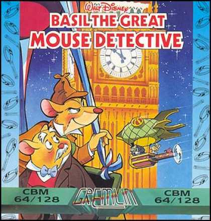 C64 Games - Basil: The Great Mouse Detective