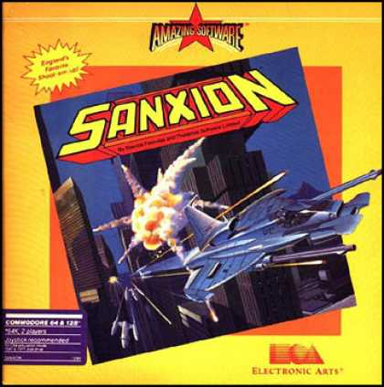 C64 Games - Sanxion