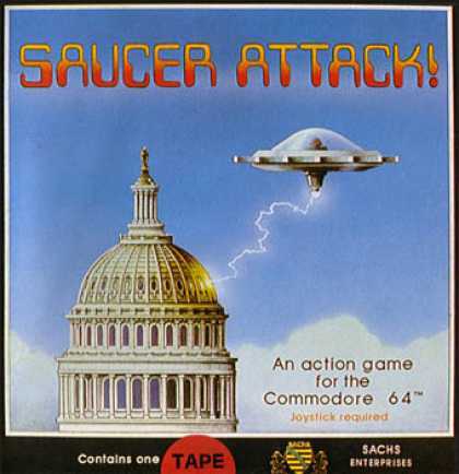 C64 Games - Saucer Attack!