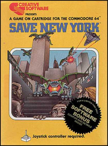 C64 Games - Save New York