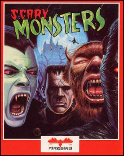C64 Games - Scary Monsters