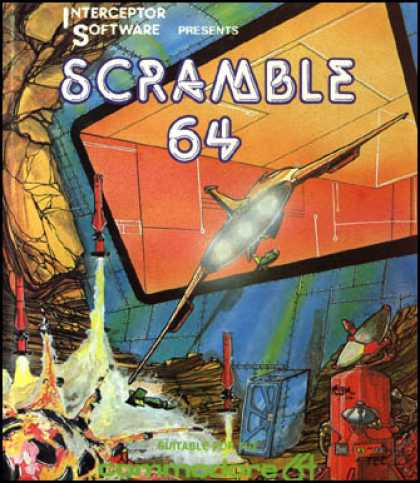 C64 Games - Scramble 64
