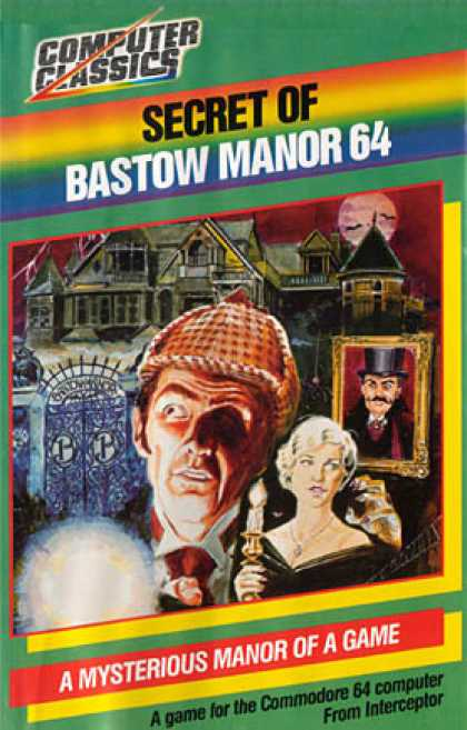 C64 Games - Secret of Bastow Manor, The