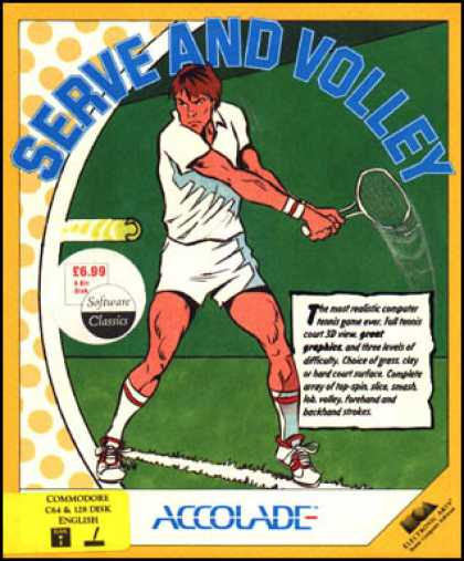 C64 Games - Serve & Volley