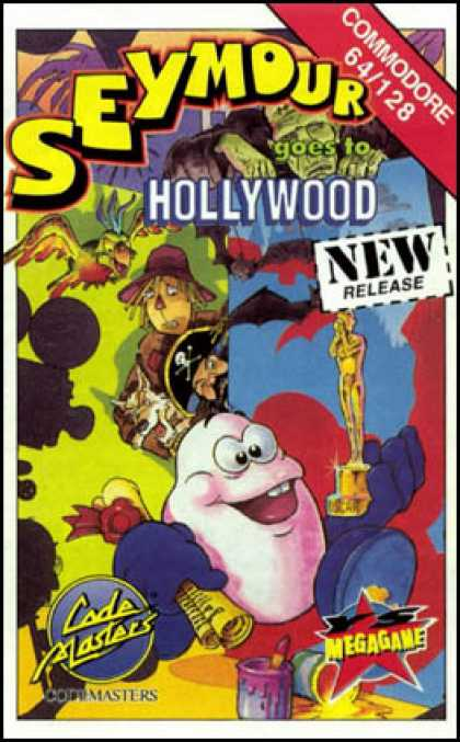 C64 Games - Seymour goes to Hollywood