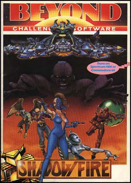 C64 Games - Shadowfire