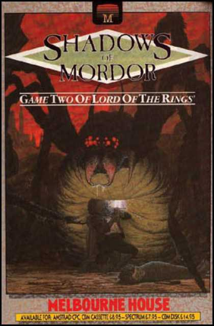 C64 Games - Shadows of Mordor, The