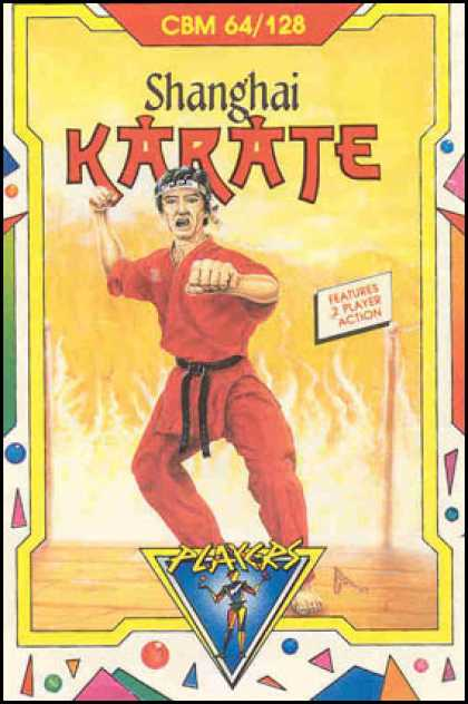 C64 Games - Shanghai Karate