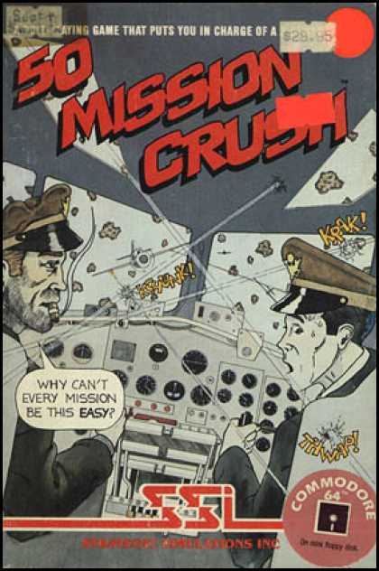 C64 Games - 50 Mission Crush