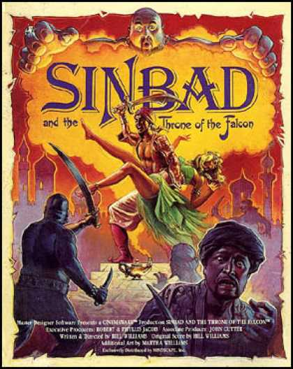 C64 Games - Sinbad and the Throne of the Falcon