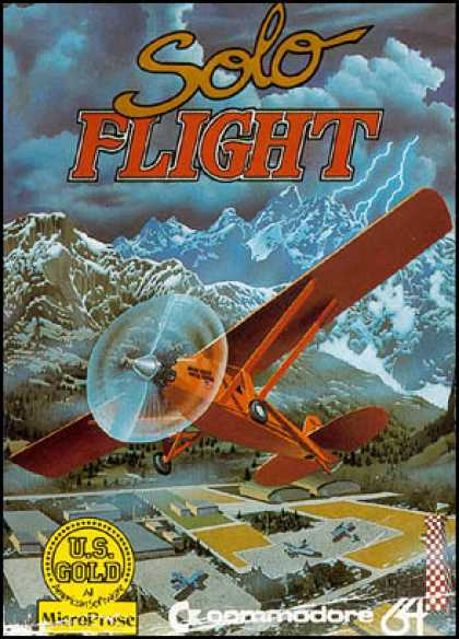 C64 Games - Solo Flight