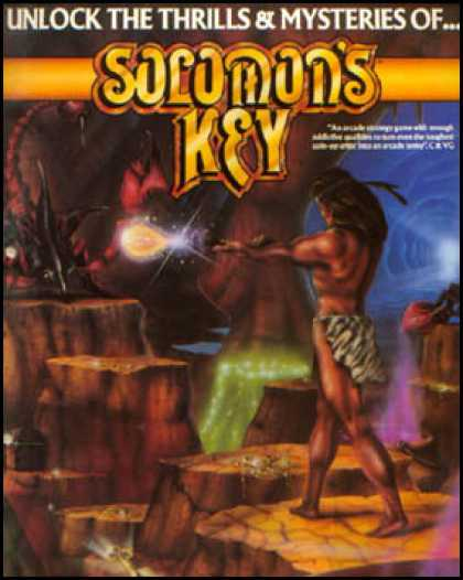 C64 Games - Solomon's Key