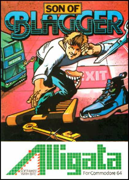 C64 Games - Son of Blagger