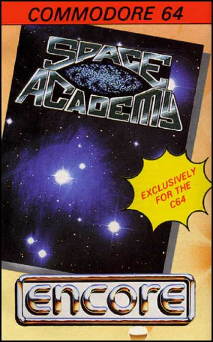 C64 Games - Space Academy