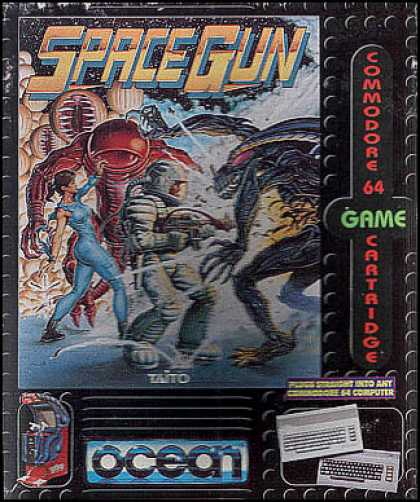 C64 Games - Space Gun