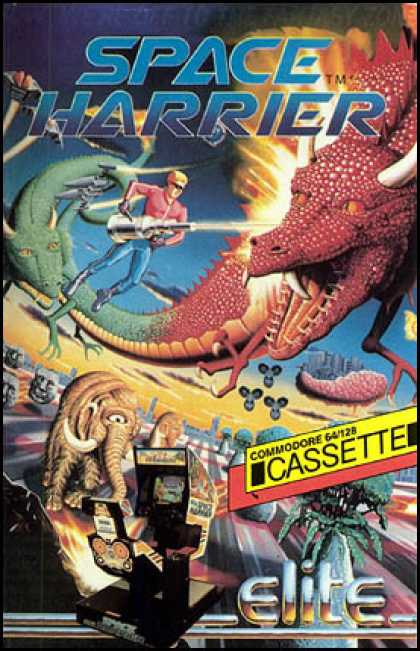 C64 Games - Space Harrier
