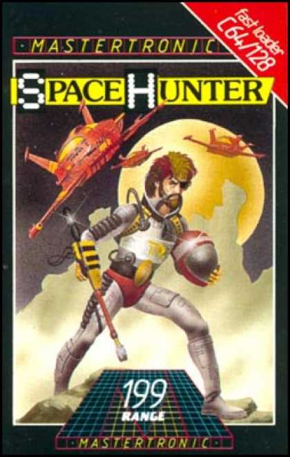 C64 Games - Space Hunter