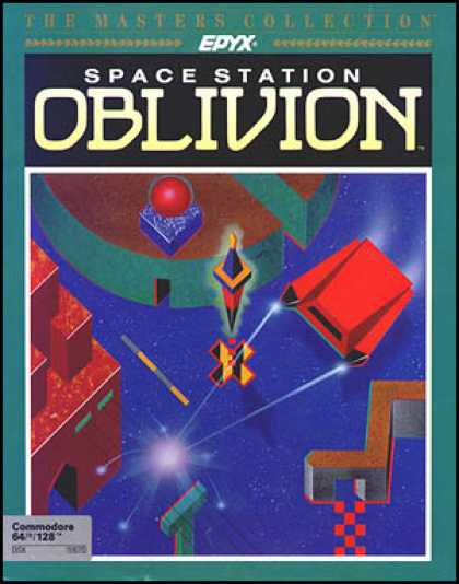 C64 Games - Space Station Oblivion