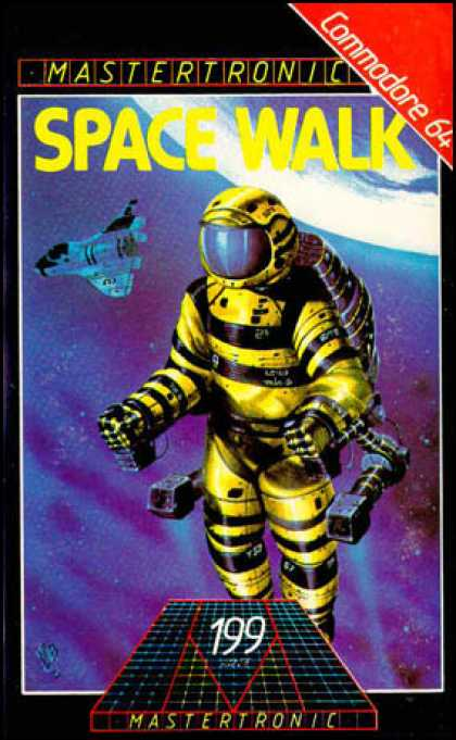 C64 Games - Space Walk