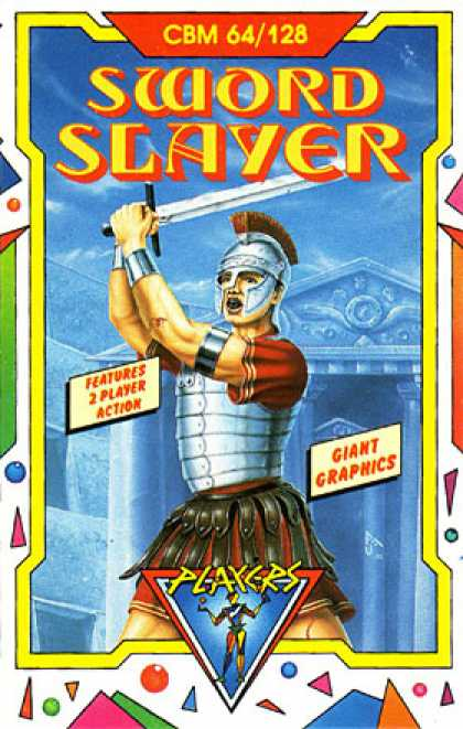 C64 Games - Spartacus: The Swordslayer
