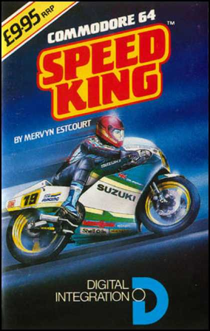 C64 Games - Speed King