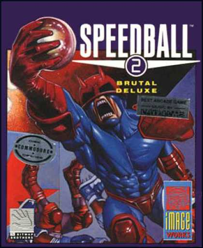 C64 Games - Speedball 2: Brutal Deluxe